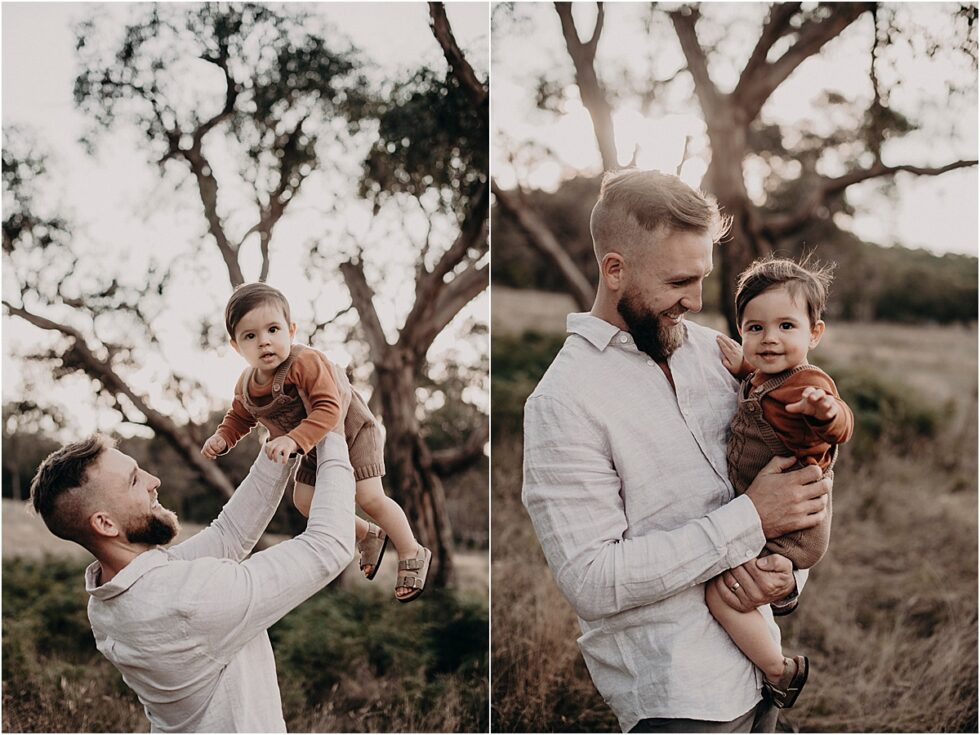 Father and son portraits, sunset farm family shoot, Family portraits