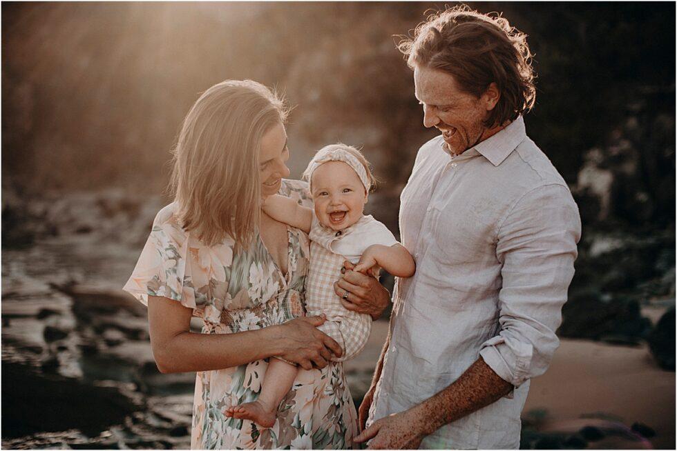 Sunset shoot Shelley Beach Kilcunda, Family shoot
